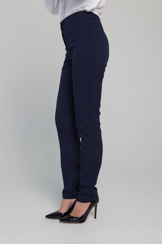 Приятные брюки полуприлегающего силуэта. 0201-01-44-01-24