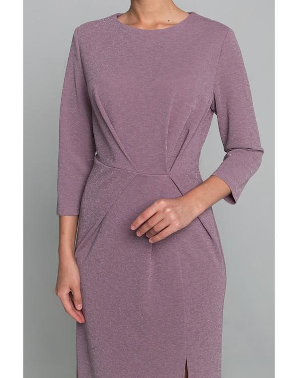 Платье полуприлегающего силуэта. 0162-01-19-02-24