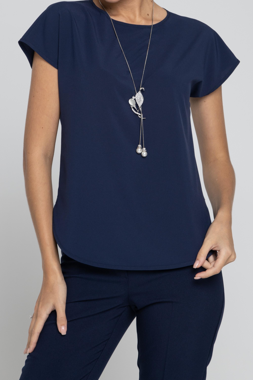 Блузка свободного силуэта. 0227-01-27-04-104