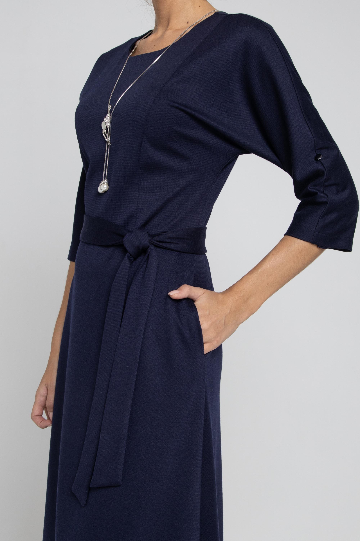 Платье приталенного силуэта. 0243-01-13-00-19