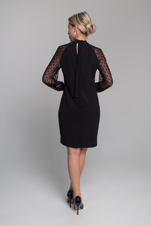Платье приталенного силуэта. 0163-01-04-07-64