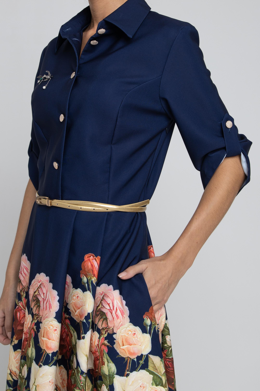 Платье из плательной ткани.        0048-02-13-01-26