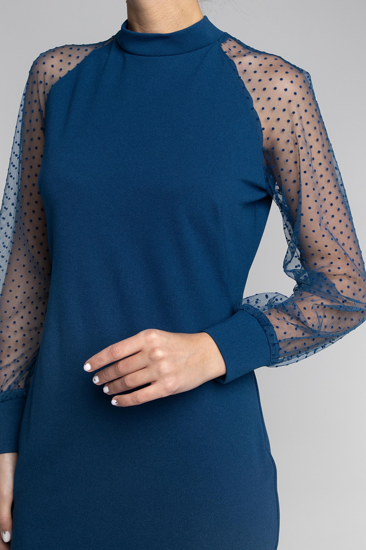 Платье приталенного силуэта. 0163-01-04-05-19