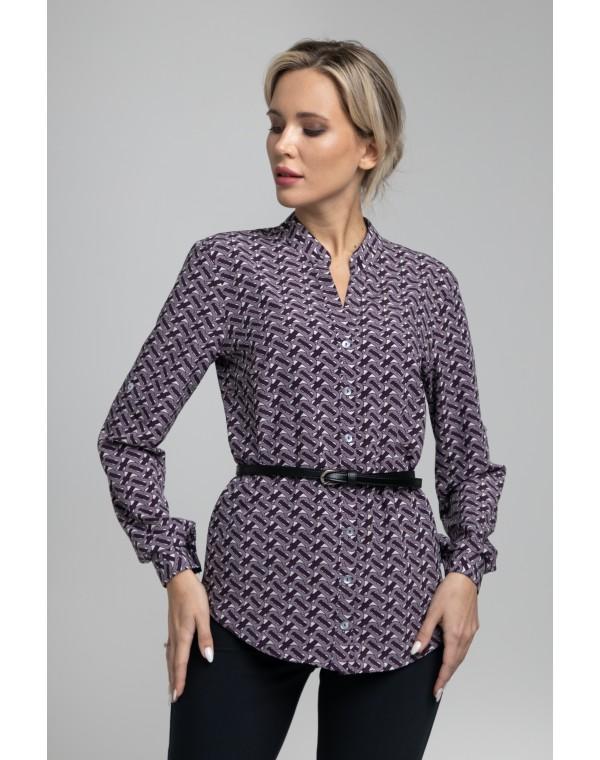 Блузка прямого силуэта . 0073-02-27-07-38